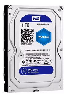 Disco Rigido 1tb Blue Wd Western Digital 64mb Sata 7200rpm