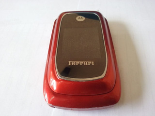 Celular Motorola Ferrari Ex897 Com Defeito - 2270