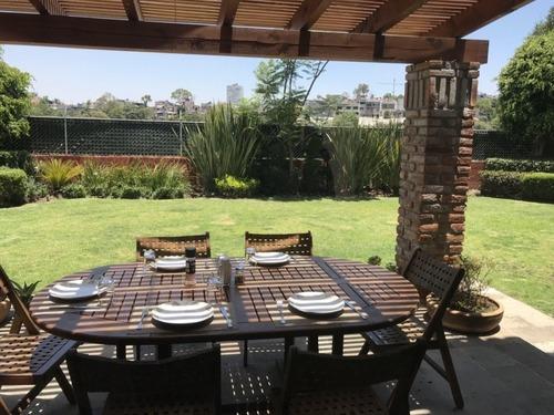 Renta Casa En Privada En La Loma, Santa Fe En Enrique Rivero Borrel