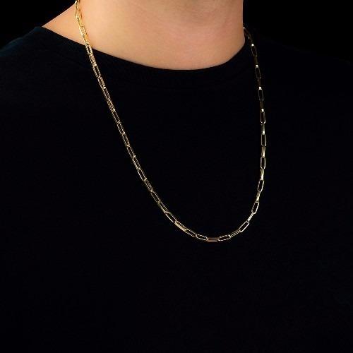 Corrente Cartier Masculina Em Ouro 18k
