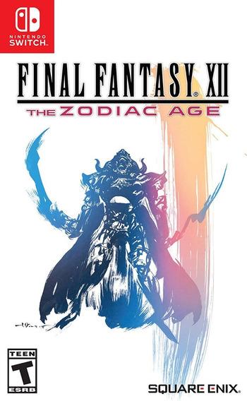 Final Fantasy Xii The Zodiac Age - Switch - Mídia Física!