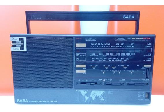 Radio Alemão Saba 5 Banda Fm/mw/lw/sw1-2 Funcionando