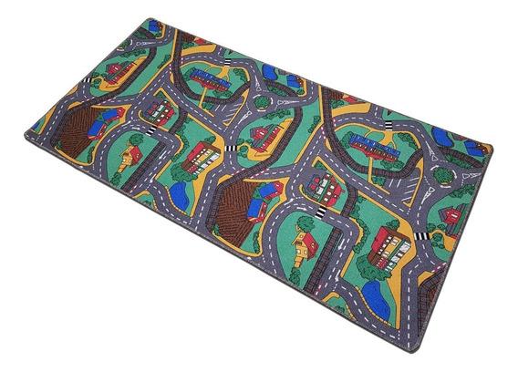 Carpeta Alfombra Calles Pista 140 X 200 Cm Nro.1 Infantil Soul