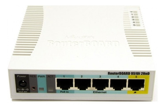 Mikrotik Routerboard Rb 951ui-2hnd Routeros Level 4