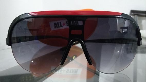 Oculos All Star (preto E Vermelho) Original