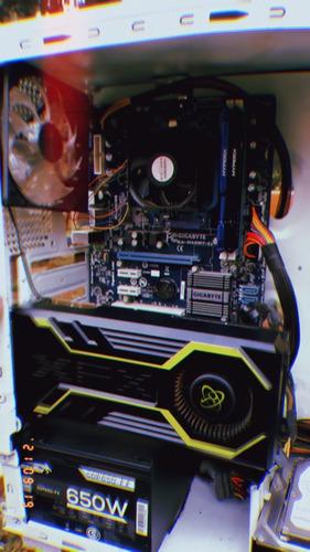Imagen 1 de 4 de Pc Gamer Amd Fx 8gb Ddr3 Placa De Video Completa
