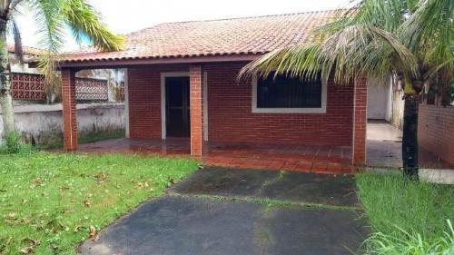 Imagem 1 de 14 de Casa Itanhaém Lado Praia200 Metros Do Mar Edicula 4 Vagas