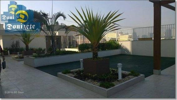 Apartamento Com 3 Dormitórios À Venda, 90 M² Por R$ 499.000,01 - Campestre - Santo André/sp - Ap5736