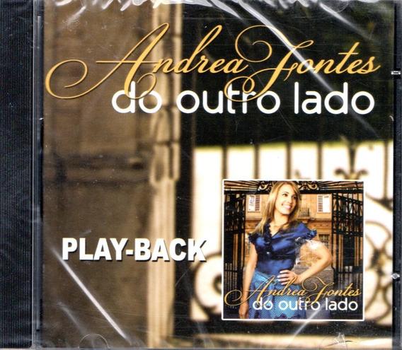 Cd Andrea Fontes - Do Outro Lado, Em Playback