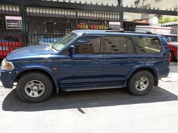 Mitsubishi Montero Sport 4x4 Color Azul Año 2001