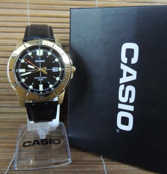 Lançamento Relógio Masculino Casio Mtp-vd01gl-1evudf (nf)