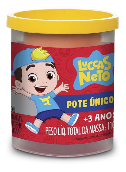 Massinha Super Massa Pote Único Luccas Neto - Estrela Estrel