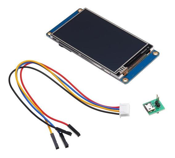 Tela Lcd Nextion Tft Ihm 3,5 Pol. Arduino Raspberry *100315