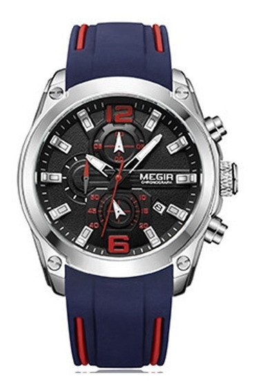 Relógio Masculino 2063 Megir Chronograph Analógico
