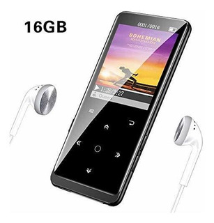 Reproductor De Mp3 De 16 Gb Con Bluetooth Radio Fm Alta Fide