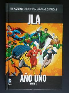 Jla: Año Uno - Parte 1 - Salvat Dc Comics - Los Germanes