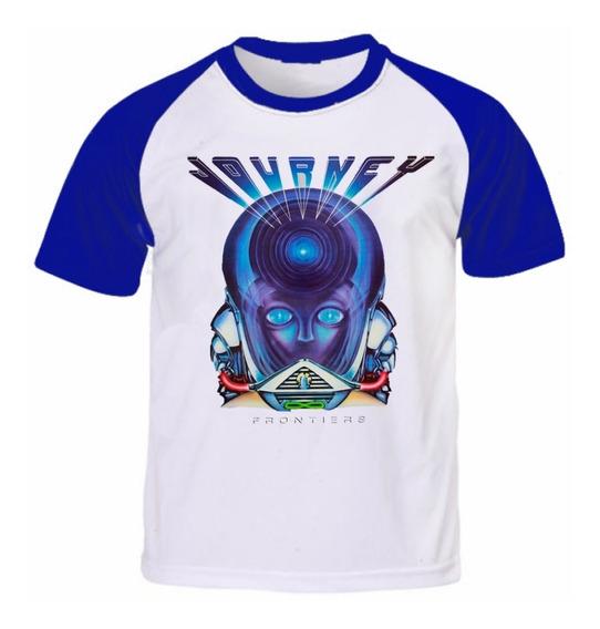 Camiseta Banda Journey - Frontiers
