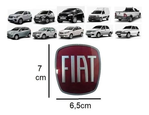 Imagem 1 de 2 de Emblema Grade Diant Fiat Uno,stilo,linea,strada,punto,doblo