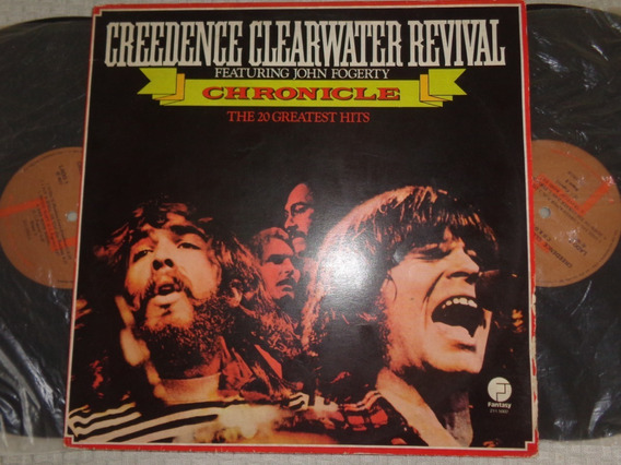 Lp Duplo Creedence Clearwater Revival- Greatest Hits, Nac.
