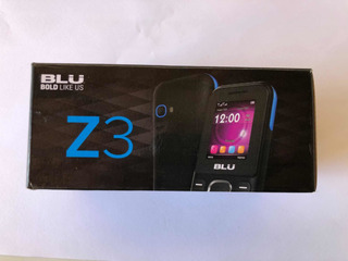Celular Blu Z3 - Vitrine.