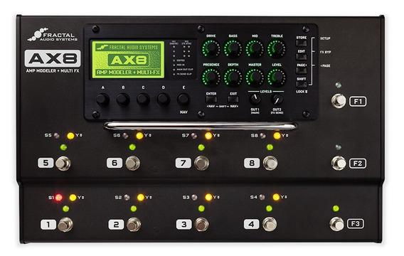 Fractal Ax8 Amp Modelador + Multifx Usado Por Metallica