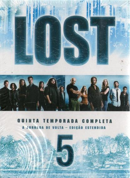 Box Lost - A Quinta Temporada Completa - Novo Lacrado***