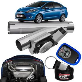 Difusor De Escapamento Esportivo Cromado - Ford Fiesta