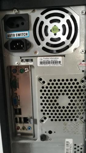 Computador Com Monitor! Somente Retirada No Local!