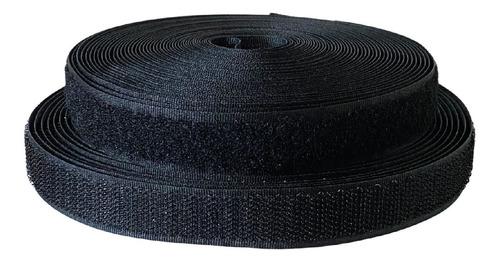 Imagen 1 de 8 de Abrojo Velcro 20 Mm / 2 Cm Ancho Rollo De 10 Mts 70% Nylon