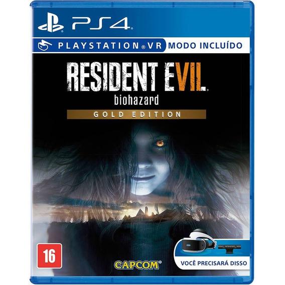 Resident Evil Biohazard Gold Edition Ps4 Novo, Lacrado.