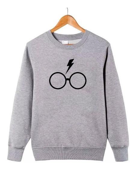 Blusa Harry Potter Hp Feminino Moletom Inverno #gr17