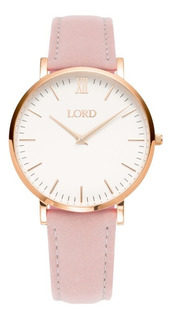 Reloj Mujer Lord Timepieces Classic Pink Rosa Watch