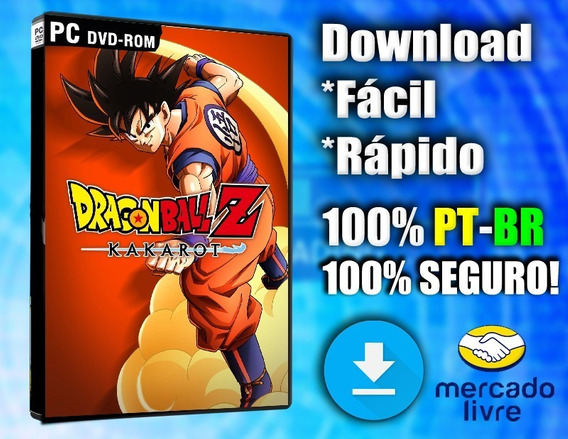 Dragon Ball Z: Kakarot - Pc - Completo 100% Pt-br