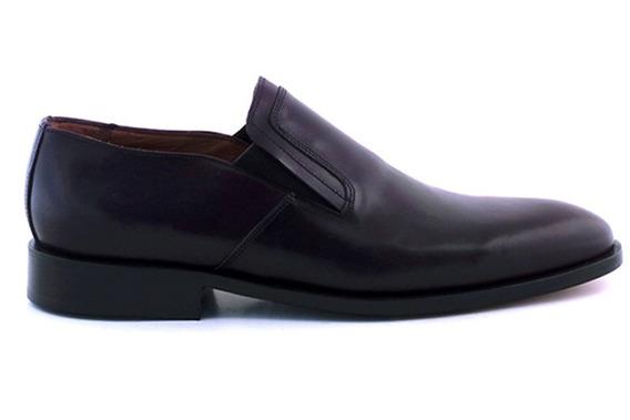 Zapato Hombre Suela Vestir Cuero Briganti Traje - Hccz01076