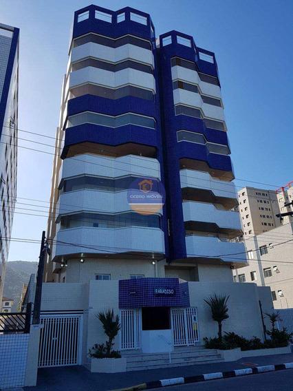 Cobertura Com 3 Dorms, Centro, Mongaguá - R$ 850 Mil