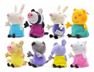 Peluches Amigos De Peppa Pig - Importados Antialergicos
