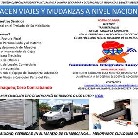 Mudanzas, Fletes Y Viajes A Nivel Nacional