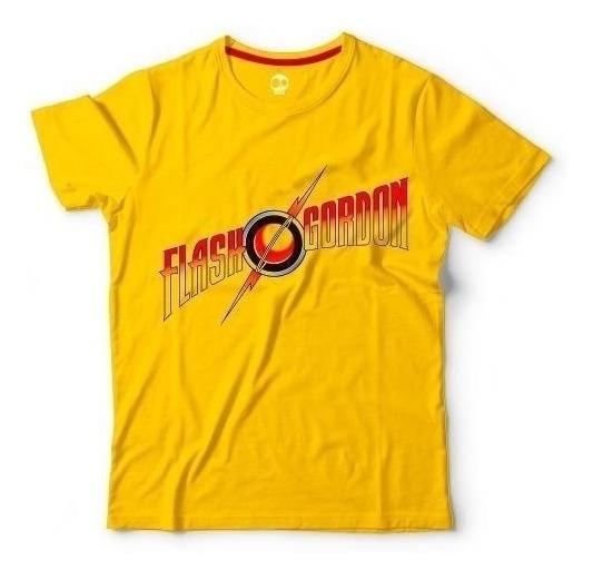 Flash Gordon   Remera 100% Algodón   Craneo Remeras De Cine
