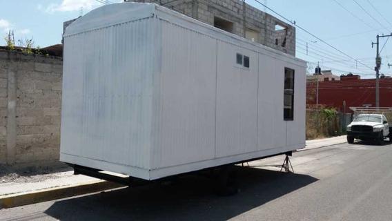 Camper Movil De 8x24 Pies Oficina Caseta Remolque Remodelada