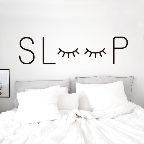 Vinilos Decorativos Ojitos Pares Sleep Respaldar
