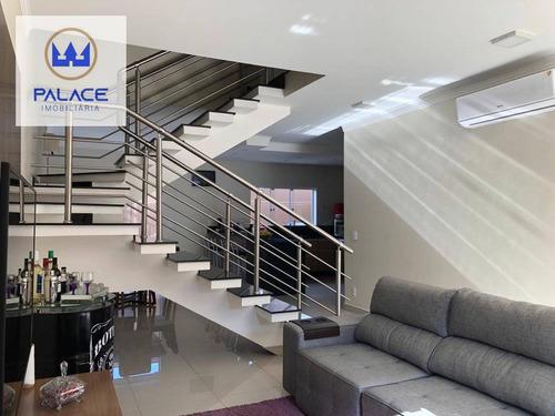 Imagem 1 de 25 de Casa Com 3 Dormitórios À Venda, 221 M² Por R$ 698.000,00 - Santa Terezinha - Piracicaba/sp - Ca0959