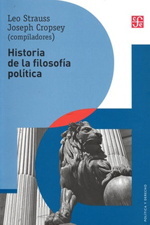 Historia De La Filosofía Política, Strauss / Cropsey, Fce