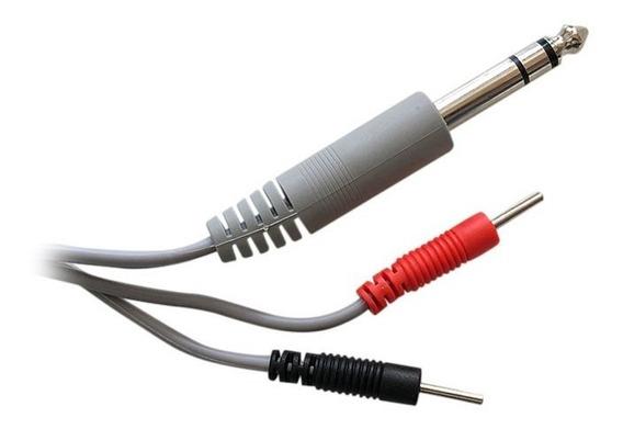 2 Cables Para Electroestimulador Tekmedical - Electrodos