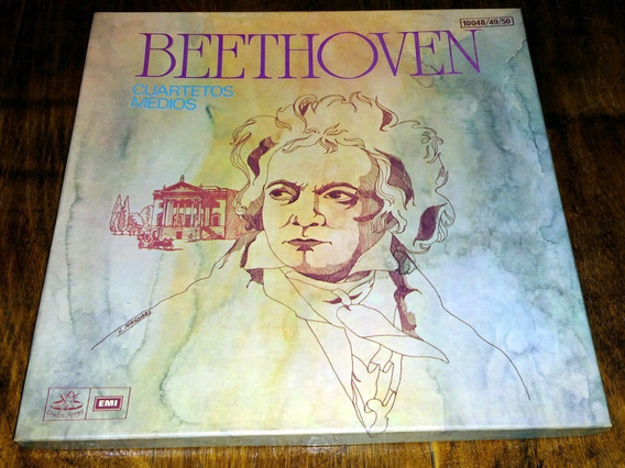 Szekely / Kuttner Beethoven Cuartetos Medios Disco Lp Vinilo