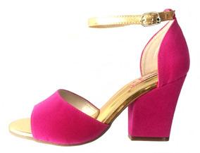 00f2507c8c Sandalia De Salto Grosso Blume - Sapatos no Mercado Livre Brasil