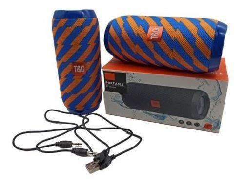 Caixa De Som Portátil Bluetooth Tg 117