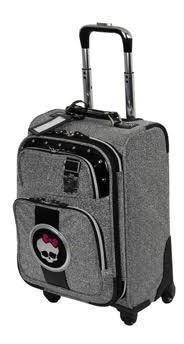 Mala De Viagem Monster High Média Sestini Giro 360
