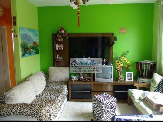 Apartamento Com 2 Dormitórios À Venda, 65 M² Por R$ 179.000 - Jardim Belmar I - Peruíbe/sp - Ap0481