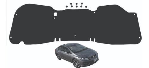 Imagem 1 de 1 de Forro Anti Chamas Capô Dianteiro Honda New Civic 2011 A 2015