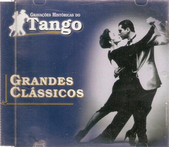 Cd Gravações Historicas Do Tango - Novo Deslacrado Slim***